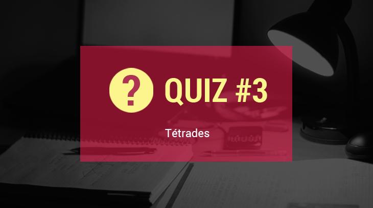 Quiz tetrades music clan