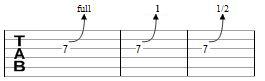 tecnicas de guitarra bend 1
