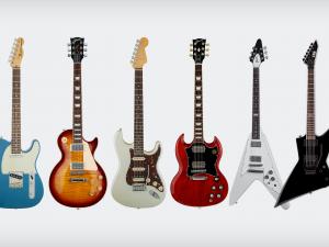 Tipos de guitarra – Conheça os modelos mais populares