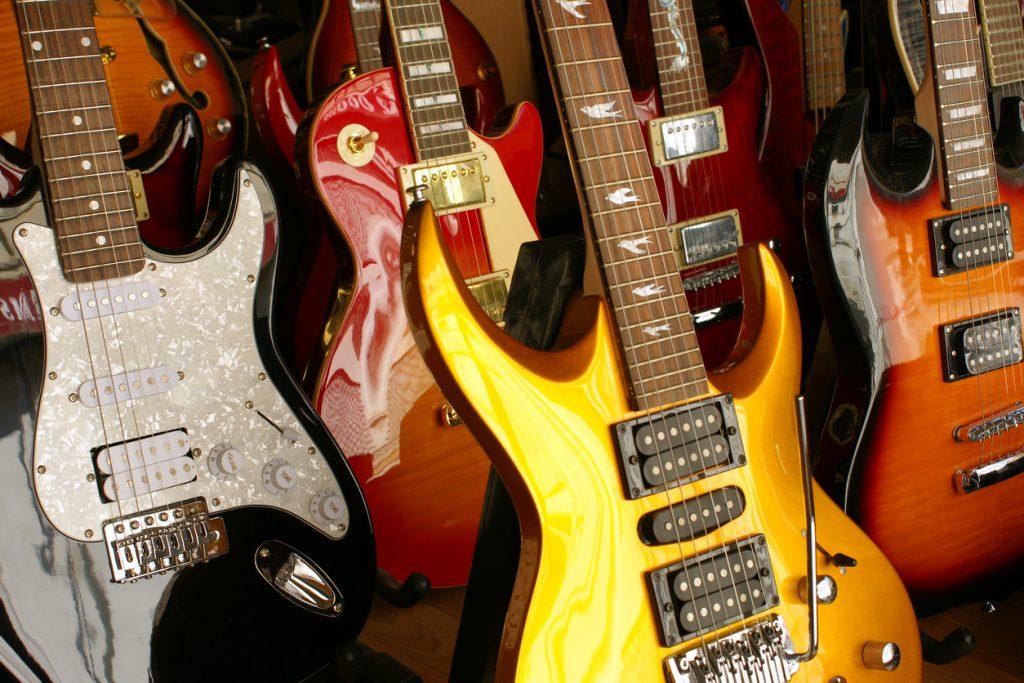 Captadores de Guitarra